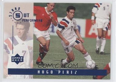 1994 Upper Deck World Cup English/Spanish Standout Performers #S5 - Hugo Perez