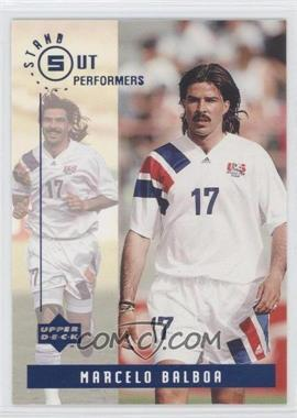 1994 Upper Deck World Cup English/Spanish Standout Performers #S6 - Marcelo Balboa