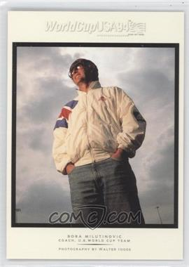 1994 Upper Deck World Cup English/Spanish Walter Ioss Portraits #WI12 - Bora Milutinovic