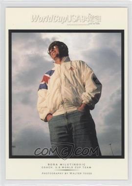 1994 Upper Deck World Cup English/Spanish Walter Ioss Portraits #WI2 - Bora Milutinovic