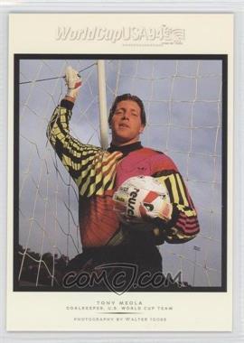 1994 Upper Deck World Cup English/Spanish Walter Ioss Portraits #WI6 - Tony Meola