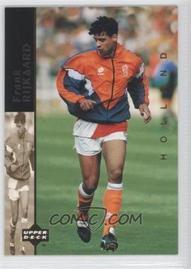 1994 Upper Deck World Cup English/Spanish World Cup Superstars #5 - Frank Rijkaard