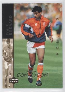 1994 Upper Deck World Cup English/Spanish World Cup Superstars #5 - Frank Rijkaard
