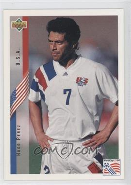 1994 Upper Deck World Cup English/Spanish #10 - Hugo Perez