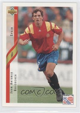 1994 Upper Deck World Cup English/Spanish #186 - Juan Antonio Goicochea