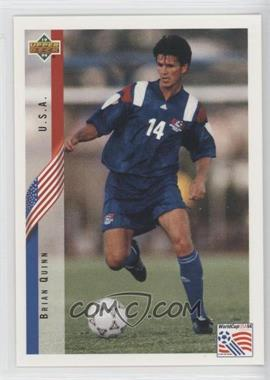 1994 Upper Deck World Cup English/Spanish #25 - Brian Quinn
