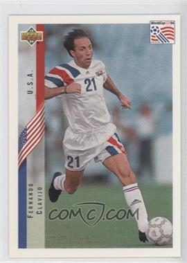 1994 Upper Deck World Cup English/Spanish #4 - Fernando Clavijo