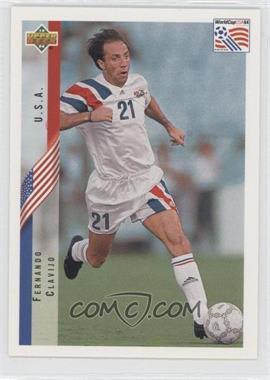1994 Upper Deck World Cup English/Spanish #4 - Fernando Clavijo