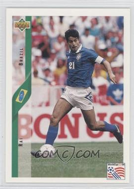 1994 Upper Deck World Cup English/Spanish #73 - Rai