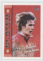 Player of the Year - David Beckham