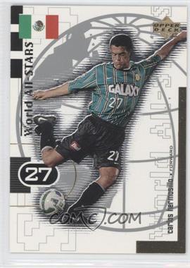 1999 Upper Deck MLS - World All-Stars #W4 - Carlos Hermosillo