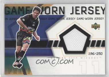 2000 Upper Deck MLS - Game-Worn Jersey #PR-J - Preki /250
