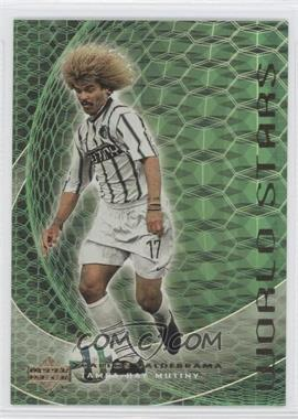 2000 Upper Deck MLS - World Stars #WS 1 - Carlos Valderrama