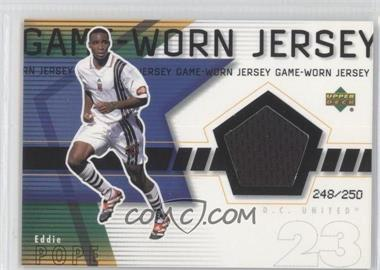 2000 Upper Deck MLS Game-Worn Jersey #EP-J - Eddie Pope /250