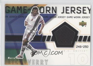 2000 Upper Deck MLS Game-Worn Jersey #ME-J - Marco Etcheverry /250