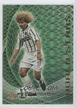 2000 Upper Deck MLS World Stars #WS 1 - Carlos Valderrama