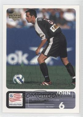 2000 Upper Deck MLS #67 - John Harkes