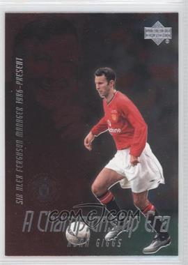 2002 Upper Deck Manchester United Legends - A Championship Era #CE2 - Ryan Giggs