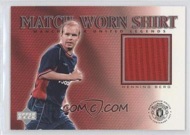 2002 Upper Deck Manchester United Legends - Match-Worn Shirt #HB-S - Henning Berg