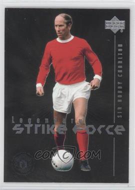 2002 Upper Deck Manchester United Legends Legendary Strike Force #LSF1 - Sir Bobby Charlton