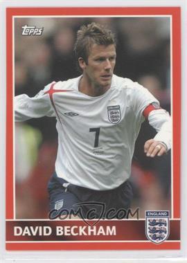2005 Topps England - [Base] #27 - David Beckham
