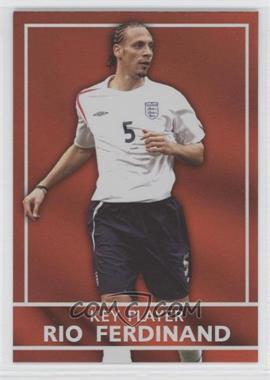 2005 Topps England Key Players #S4 - Rio Ferdinand