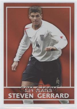 2005 Topps England Key Players #S6 - Steven Gerrard