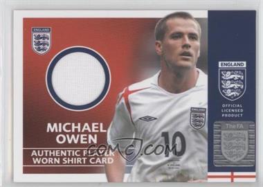 2005 Topps England Player Worn Shirt #MIOW - Michael Owen