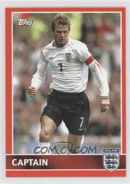 2005 Topps England #60 - David Beckham