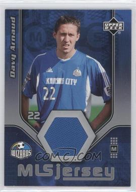 2005 Upper Deck MLS - Jerseys #DA-J - Davy Arnaud