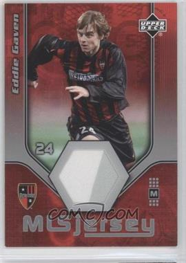 2005 Upper Deck MLS Jerseys #EG-J - Eddie Gaven