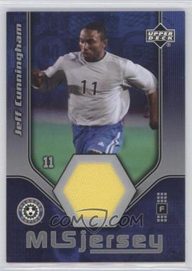 2005 Upper Deck MLS Jerseys #JN-J - Jeff Cunningham