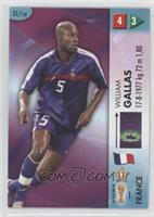 William Gallas /400