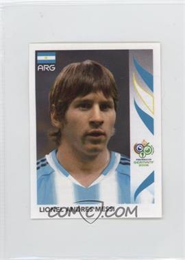 2006 Panini World Cup Album Stickers - [Base] #185 - Lionel Andres Messi
