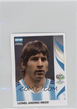 2006 Panini World Cup Album Stickers #185 - Lionel Andres Messi