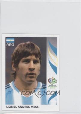 2006 Panini World Cup Album Stickers #185 - Lionel Andres Messi