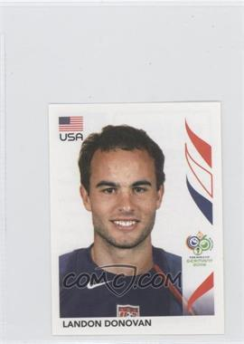 2006 Panini World Cup Album Stickers #355 - Landon Donovan