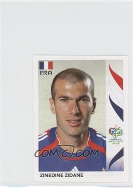 2006 Panini World Cup Album Stickers #467 - Zinedine Zidane