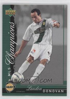 2006 Upper Deck MLS Champions #CH-7 - Landon Donovan
