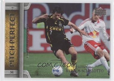 2007 Upper Deck MLS Pitch Perfect #PP14 - Guillermo Barros Schelotto
