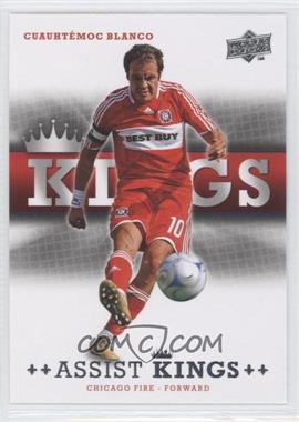 2008 Upper Deck MLS - Assist Kings #AK-1 - Cuauhtemoc Blanco