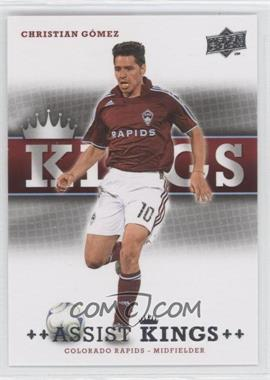 2008 Upper Deck MLS - Assist Kings #AK-5 - Christian Gomez