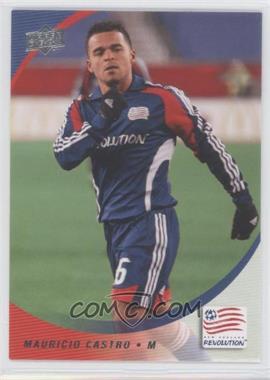 2008 Upper Deck MLS - [Base] #169 - Mauricio Castro