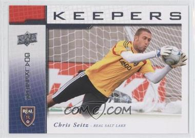 2008 Upper Deck MLS - Goal Keepers #KP-13 - Chris Seitz
