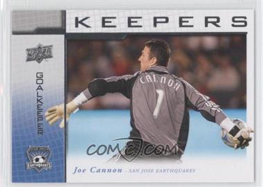 2008 Upper Deck MLS - Goal Keepers #KP-14 - Joe Cannon
