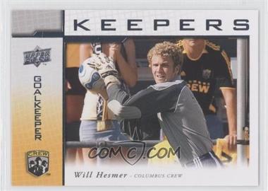 2008 Upper Deck MLS - Goal Keepers #KP-3 - William Hesmer