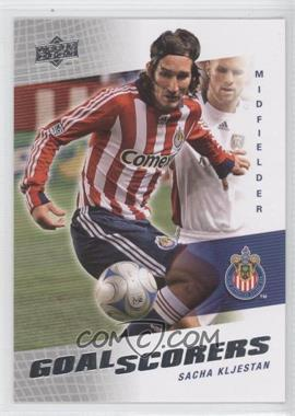 2008 Upper Deck MLS - Goal Scorers #GS-10 - Sacha Kljestan