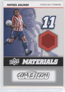 2008 Upper Deck MLS - MLS Materials #MM-21 - Maykel Galindo