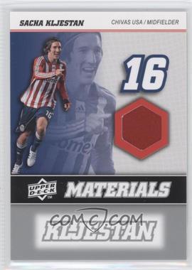 2008 Upper Deck MLS - MLS Materials #MM-29 - Sacha Kljestan