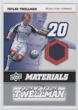 2008 Upper Deck MLS - MLS Materials #MM-30 - Taylor Twellman
